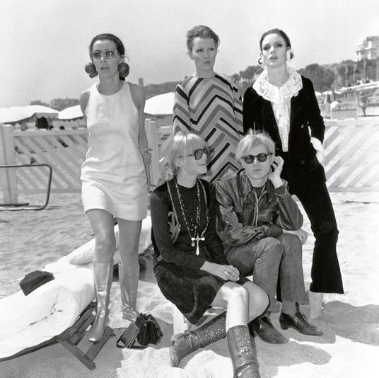 Andy Warhol, Nico, Vanessa Redgrave and Friends