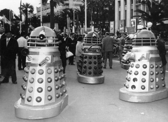 Daleks at Cannes Film Festival