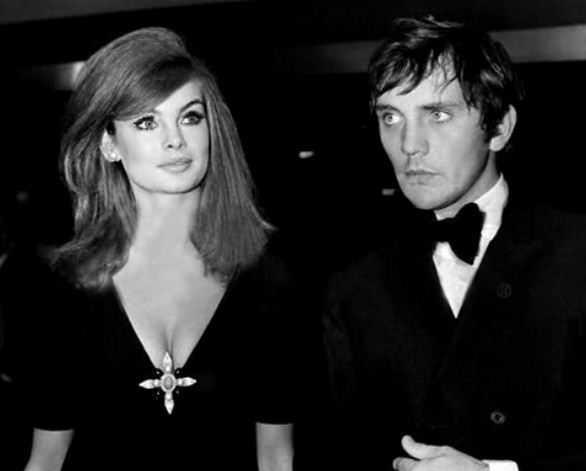 Jean Shrimpton and Terence Stamp