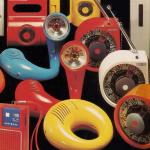 Seventies Plastic Panasonic Portables