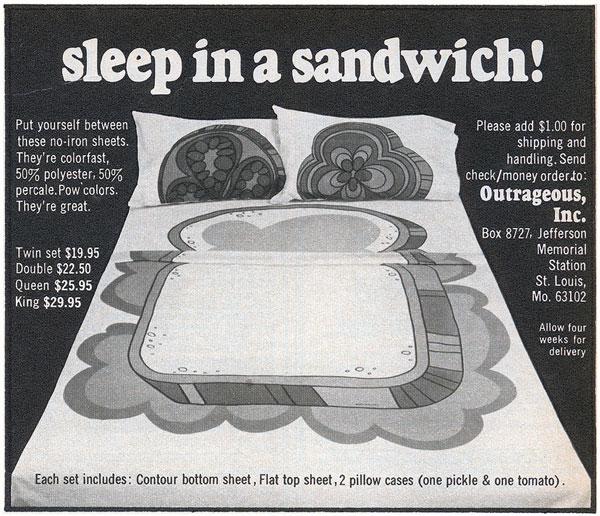 Sleep in a Sandwich