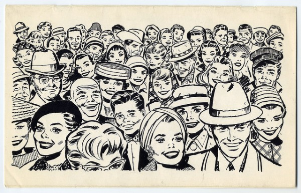 The Crowd Clip Art