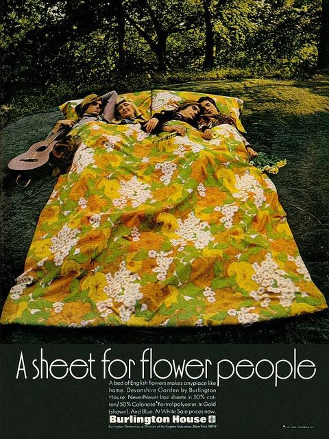 retro bed ad