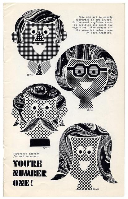 sixties clip art