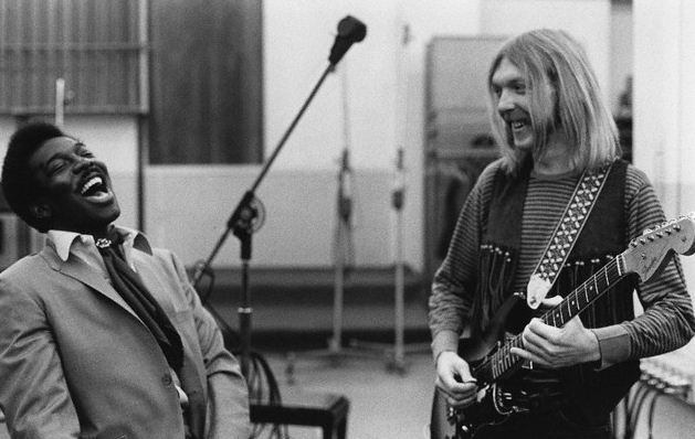 Duane Allman and Wilson Pickett