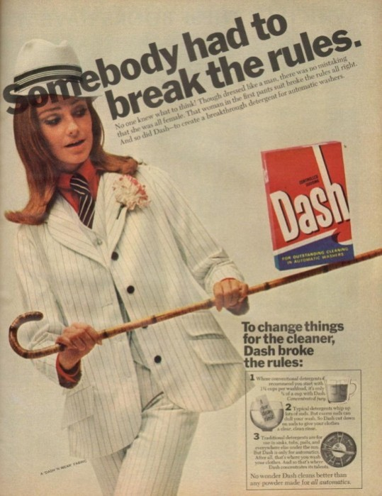 1960s Dash Advert