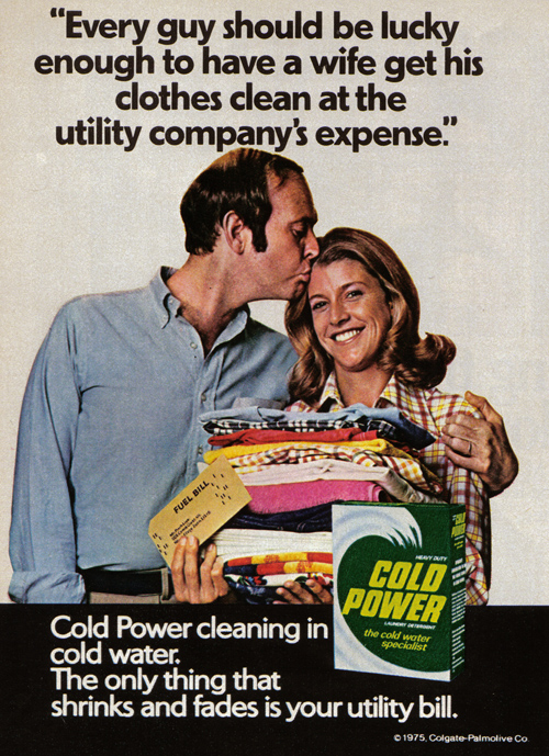 1970s washing powder ad