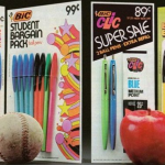 Back To The Old School – Groovy Stationery Adverts