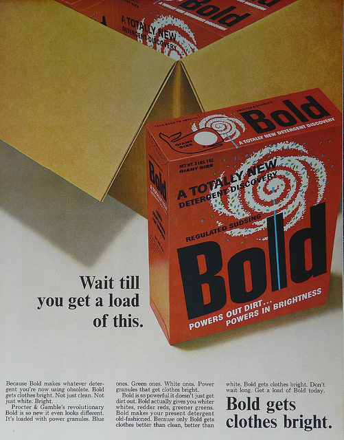 Bold Washing Powder Ad