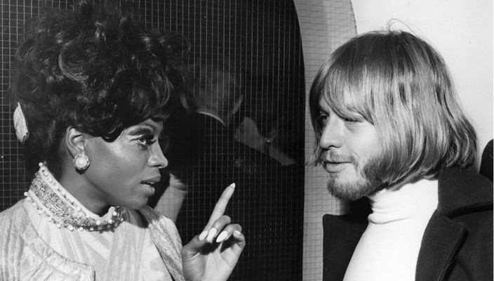 Brian Jones and Diana Ross