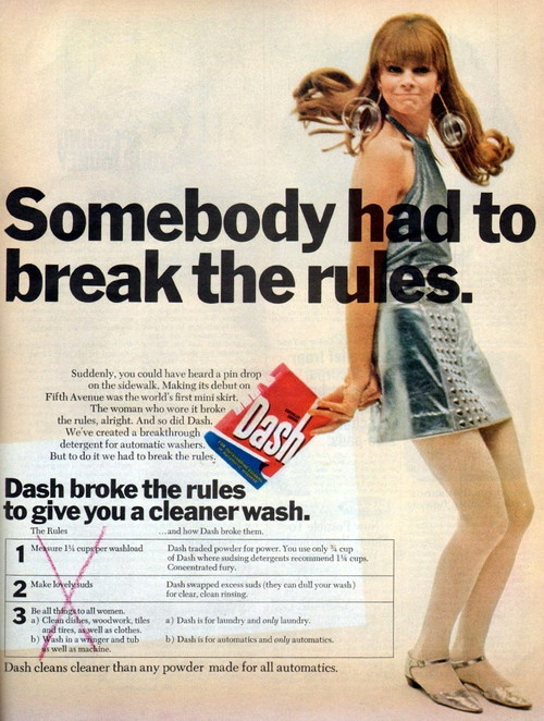 Dash Washing Powder Advert