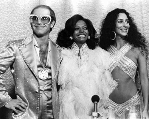 Elton John and Cher