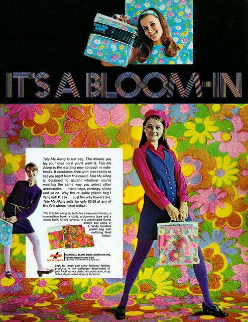 Flower Power School Bag
