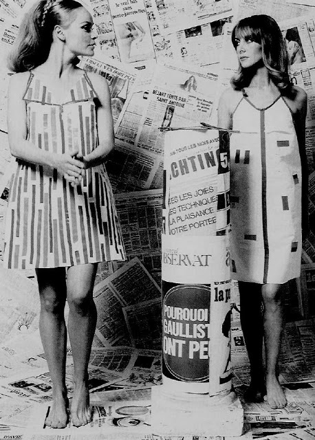 Paper Dresses 1960s Girls