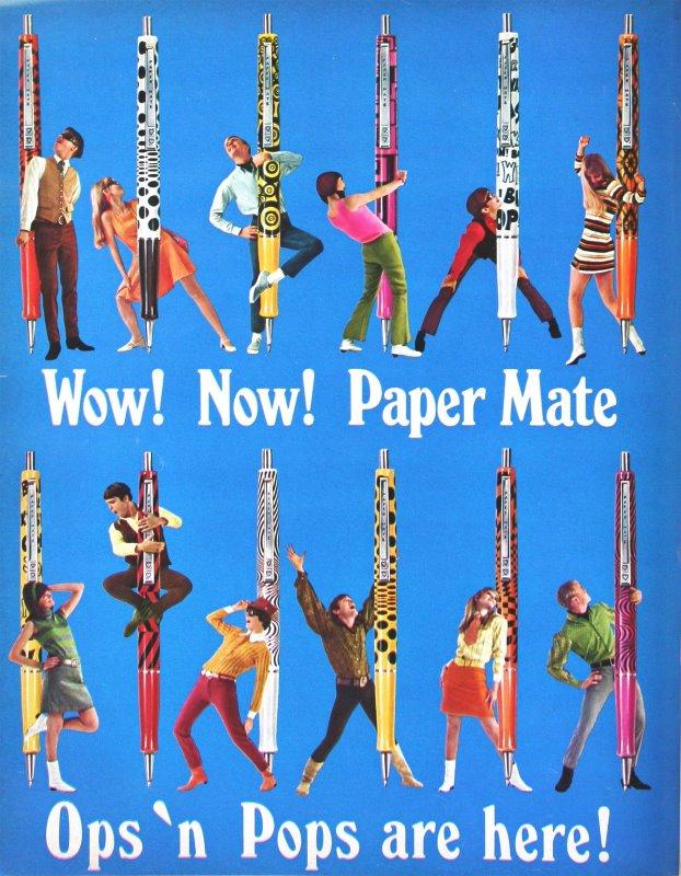 Papermate 1960s Advert