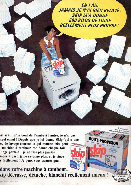 Skip washing powder ad