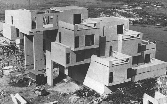 The construction of habitat 67 voices of east anglia for Habitat 67 architecture