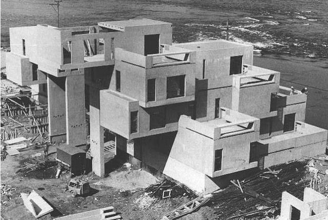 The construction of habitat 67 voices of east anglia for Construction habitat