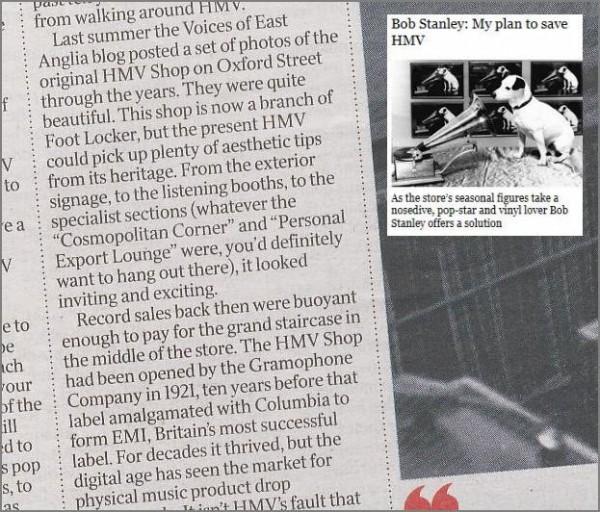 HMV The Times