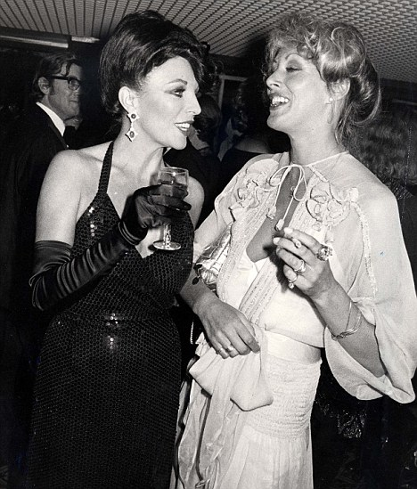 Sue Lloyd and Joan Collins