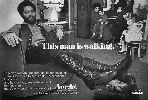 1970s Verde shoes Advert