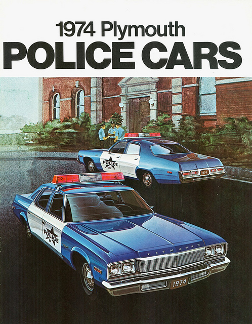 Call The Cops American Police Car Brochures Voices Of