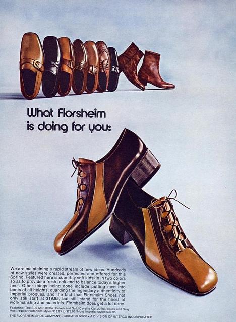 Mens Shoe Advert