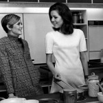 Twiggy and Diana Rigg at 1967 Ideal Home Exhibition