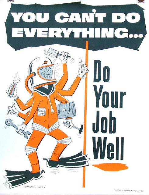 1970 Career Poster