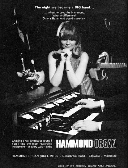 Hammond Advert