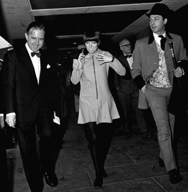 Mary Quant and Warren Gold