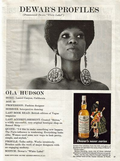 Ola Hudson Advert
