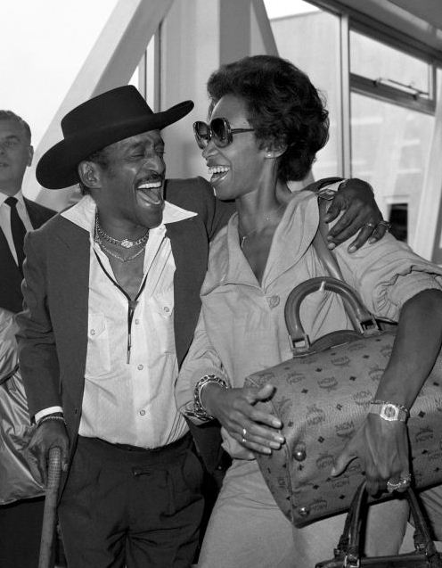 Sammy Davis Jr and Wife