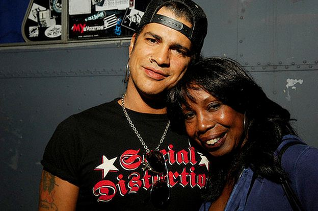Slash and Ola Hudson