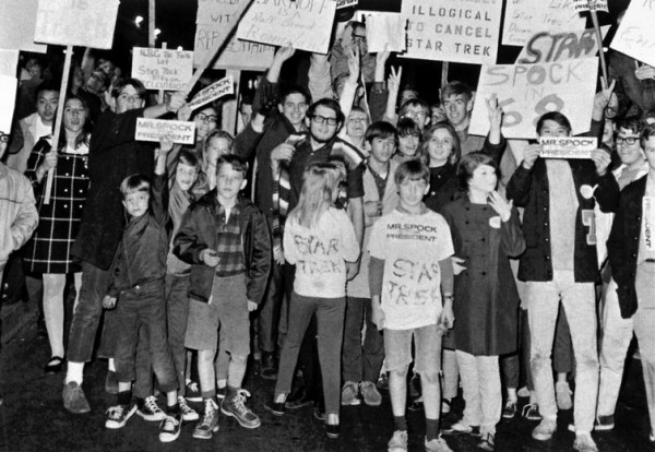 Star Trek Protest 1968