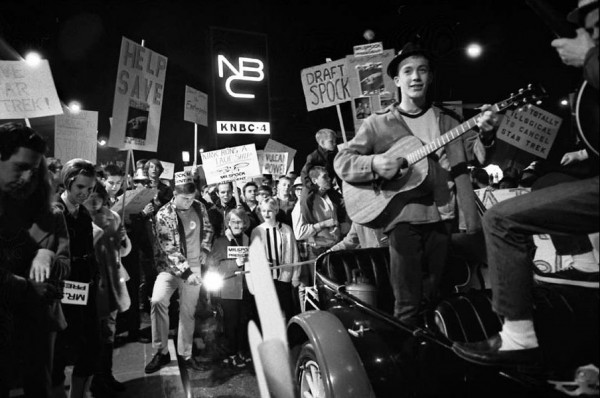 Star Trek Protest in 1968