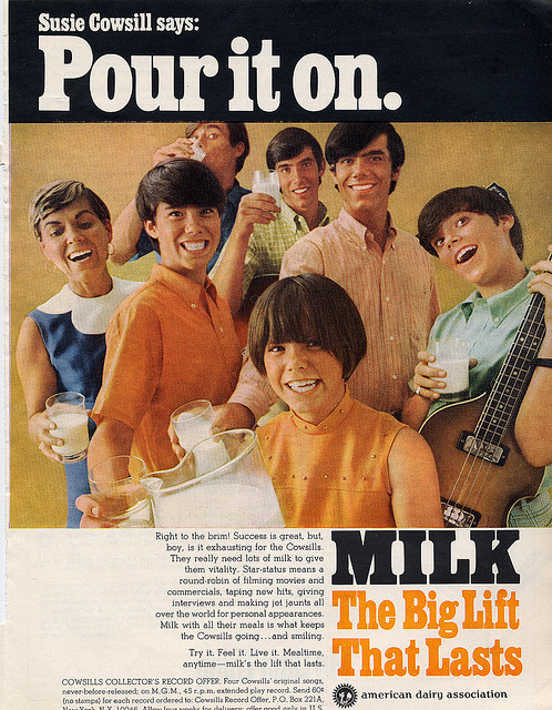 The Cowsills Milk Advert