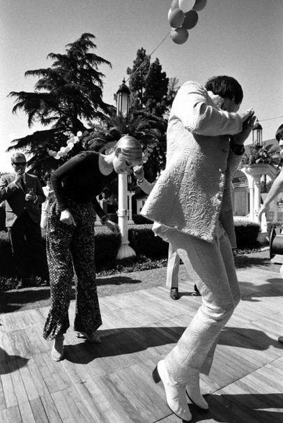 on the dancefoor