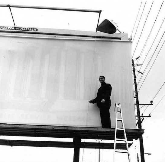 Roy  Lichtenstein Billboard 1967