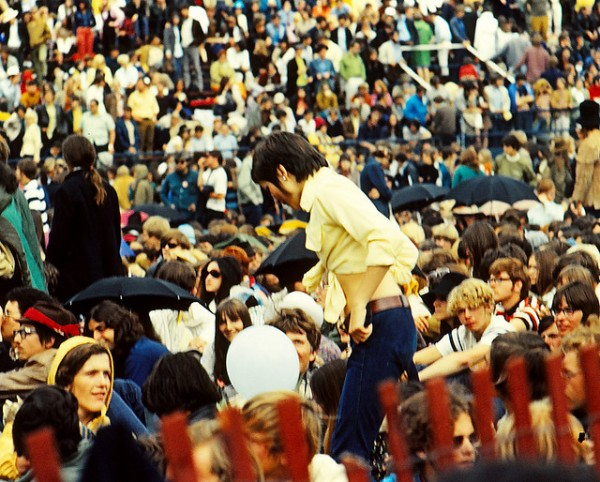 Audience at Toronto Pop Festival 1969
