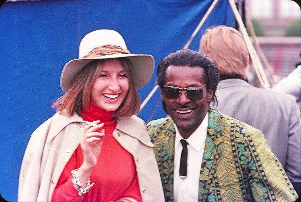 Chuck Berry and Friend at Toronto Pop Festival 1969