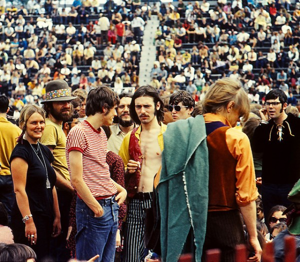 Crowd at Toronto Pop Festival 1969