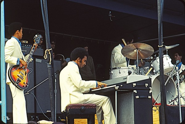 Edwin Starr's Backing band at Toronto Pop Festival 1969