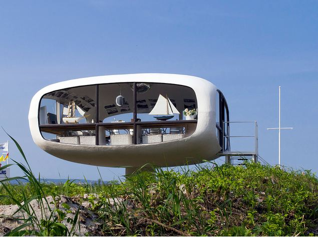 Futuristic Lifeguard Station