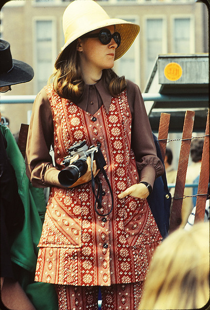 Girl at Toronto Pop Festival 1969