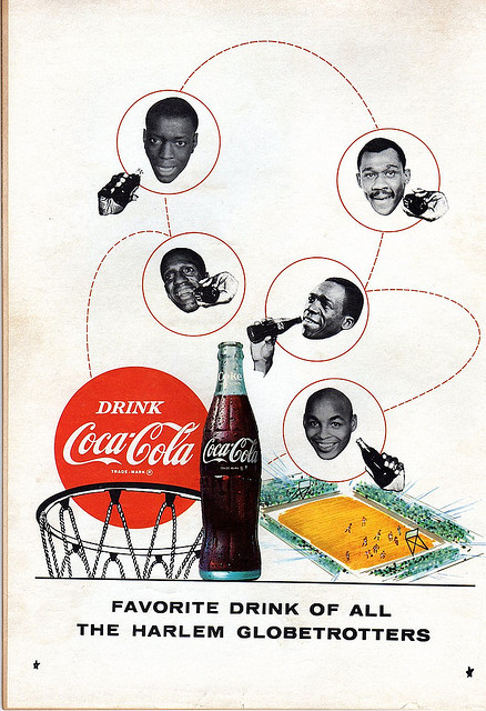 Harlem Globetrotters 1968 Coca Cola Advert