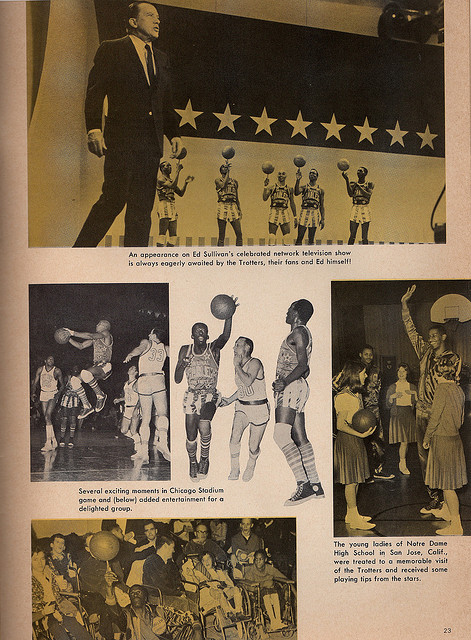 Harlem Globetrotters 1968 Program
