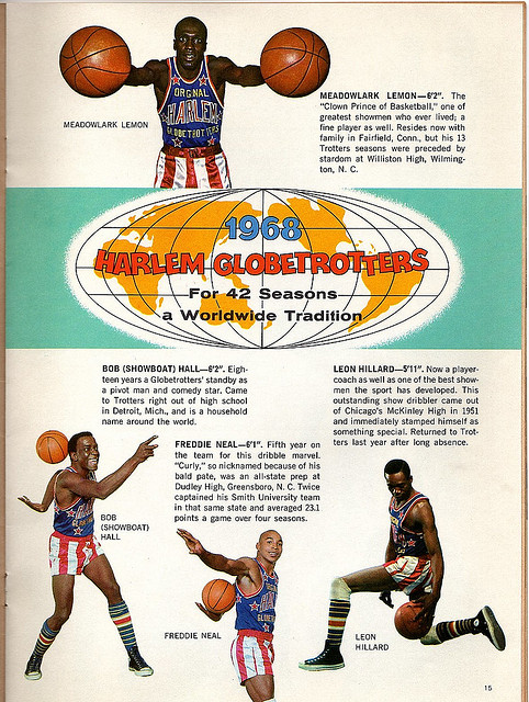 Harlem Globetrotters 1968 Team