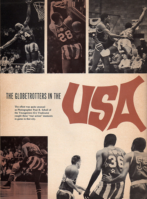 Harlem Globetrotters in the USA 1968 Souvenir Book