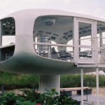 Space Age German Lifeguard Station